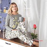 Женскийтрикотажный костюм-пижама  А-7707