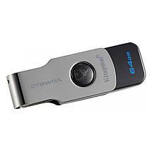 Флеш-память USB Kingston DataTraveler DTSWIVL (64GB, USB 3.1), фото 3