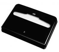 Диспенсер для бумажных покрытий на унитаз, TORK. 344088 Черный