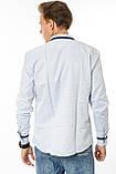 Мужские рубашки с длинным рукавом Gelix 1281001 белая, фото 4