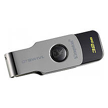 Флеш-память USB Kingston DataTraveler DTSWIVL (32GB, USB 3.1), фото 3