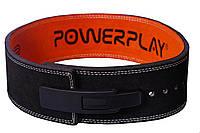 Атлетичний Пояс штангіста шкіряний PowerPlay Stronglift