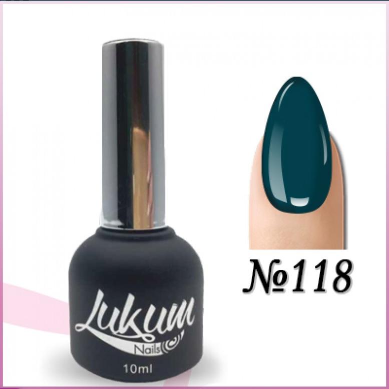 Гель лак Lukum Nails № 118