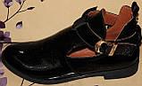 Туфли женские на низком ходу из натуральной кожи от производителя модель НИ-01228, фото 6
