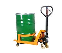 Гидравлическая тележка Yi-Lift HJ 365 для подъема и перемещения металических бочек Ф до 572 мм и емкостью 210л