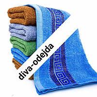 Махровое полотенце для лица и рук из качественного материала.Размер:1,0 x 0,5