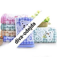 Банное полотенце с мишками .Размер:1,4 x 0,7