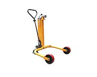 Гидравлическая тележка Yi-Lift DT250 для подъема и перемещения метал.бочек весом до 250 кг и емкостью 210л