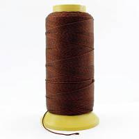 Нить Нейлоновая Швейная в катушках, Цвет: Коричневый, Толщина 0.6мм, около 135м/1катушка, (УТ000007005)