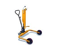 Гидравлическая тележка Yi-Lift DTW250 для подъема с пола или паллет и перемещения металлических бочек