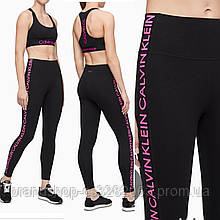 Легінси Calvin Klein Performance repeating logo higt rise full length leggings