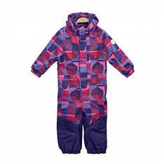 Детский зимний комбинезон для девочки сдельный, мембранный от KolorKids 33114 | размеры 92-116р.