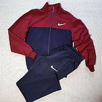 Спортивный костюм бордовый трикотажный 48р