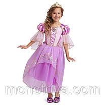Карнавальный костюм, платье Рапунцель Disney коллекция 2020года