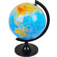 Глобус D320 мм украинский, географический