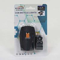 Светодиодная фара для велосипеда C 40296 (240) на батарейках, на листе