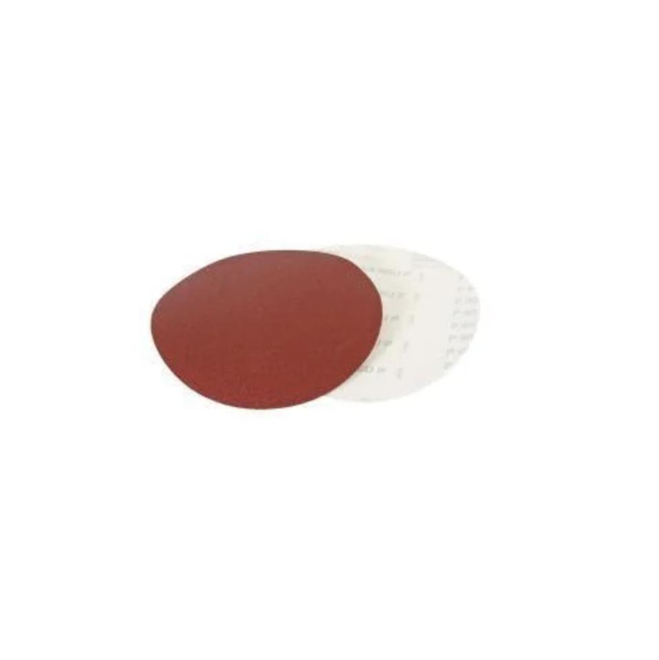 Комплект тарельчатых шлифовальных кругов с липучкой 1шт. зерно 60, 3 шт. зерно 80, 3 шт. зерно 100, 3 шт. зерн