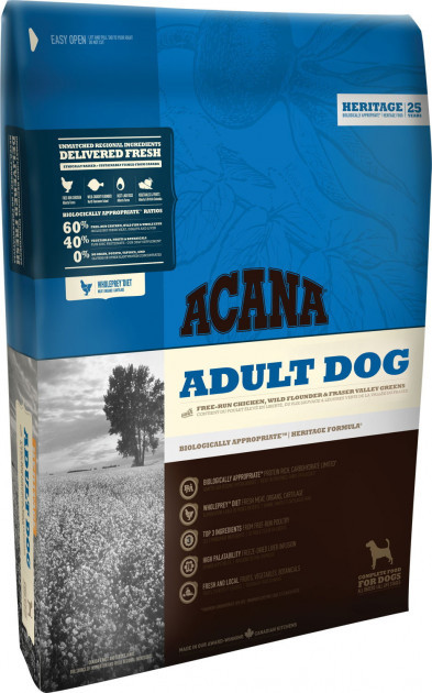 Сухой корм для взрослых собак Акана Acana Adult Dog 2 кг