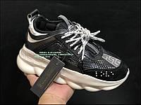 EUR 36-45 НОВЫЕ МОДЕЛИ Versace Chain Reaction Версаче мужские и женские кроссовки на платформе