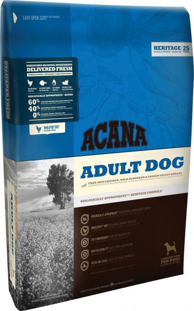 Сухой корм для взрослых собак Акана Acana Adult Dog 17 кг