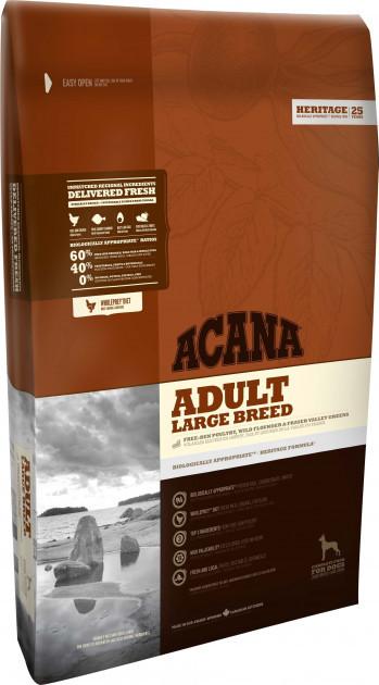 Сухий корм для собак великих порід Акана Acana Large Breed 17 кг