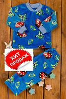 Пижама детская теплая (рост 110-116-122)