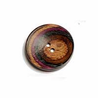 Пуговица Curved Round 34мм, 2-отверстия, Symfonie Lilac Range KnitPro, (УТ0011619)