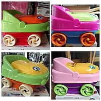 Горшок детский музыкальный Машинка IRAK PLASTIK CM-140, фото 1