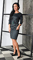 Элегантное ,строгое,но очень женственное и красивое платье свободного кроя по фигуре.Разные цвета, фото 1