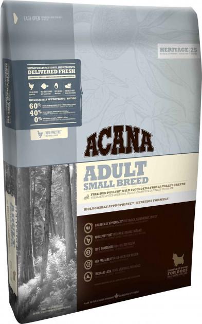 Сухой корм для собак малых пород Акана Acana Adult Small Breed 340 г