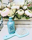 Расческа для волос Janeke 1830 Superbrush The Original Italian Blue Голубая Тиффани, фото 4
