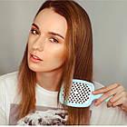 Расческа для волос Janeke 1830 Superbrush The Original Italian Blue Голубая Тиффани, фото 3