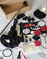 Аксессуары набор крепления gopro для экшнкамер 24 предмета гопро Киев