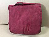 Органайзер косметичкаTravel wash bag  / бордовый, фото 3