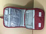 Органайзер косметичкаTravel wash bag  / бордовый, фото 5