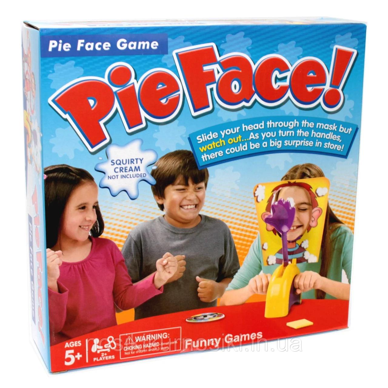 Настольная игра Торт в лицо, пирог в лицо