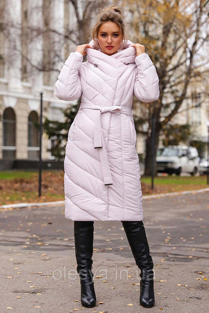 Стильный пуховик-одеяло Виоланта ТМ Nui Very размер 56