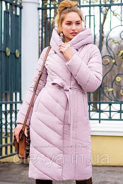 Стильный пуховик-одеяло Виоланта размеры 42- 56