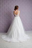 Весільна сукня..Свадебное платье.Вечернее платье.Пышное платье. Фасон рыбка.