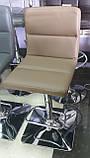 Барный стул B-109 латте искусственная кожа Vetro Mebel, фото 10
