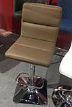 Барный стул B-109 латте искусственная кожа Vetro Mebel, фото 2
