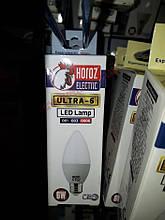 Світлодіодна Лампа 6W Е27 Свічка 6400K Horoz Ultra-6