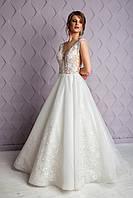 Весільна сукня..Свадебное платье.Вечернее платье.Пышное платье. Фасон рыбка., фото 1