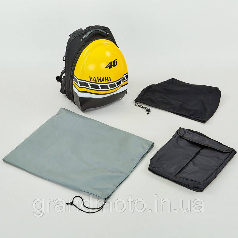 Мото рюкзак для шлема и ноутбука Yamaha Cap