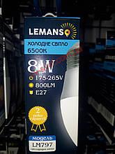Светодиодная Лампа 8W Е27 Свеча 6500K 800Lm Lemanso LM797