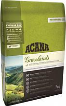 Сухий корм для собак різного віку Акана Acana GRASSLANDS Dog з ягням і рибою 2 кг