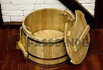 Запарник для веников дубовый 20л Fassbinder™ die authentische Gestaltung, фото 2