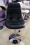 Барный стул B-45 черный искусственная кожа Vetro Mebel, фото 7