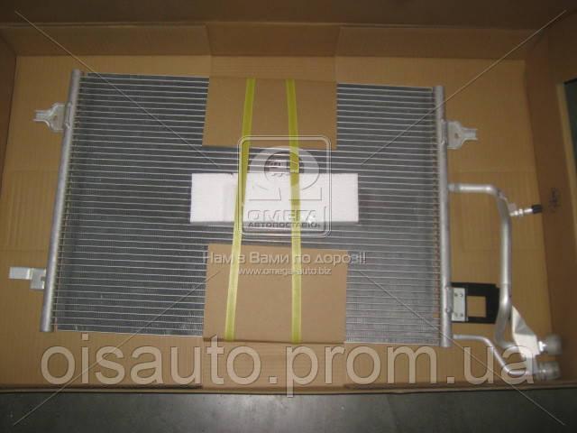 Конденсатор кондиционера AUDI A6/S6 (C5) (97-)(пр-во Nissens)