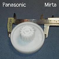 Шестерня редуктора для мясорубки Panasonic / Mirta (D-5) - F-15 (Z=78/16; D=80; d=32 мм; H=37,5)
